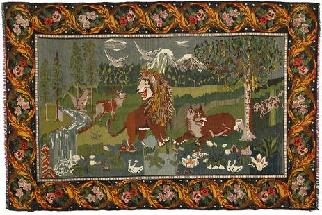Rose Kelim carpet XCGZB1841