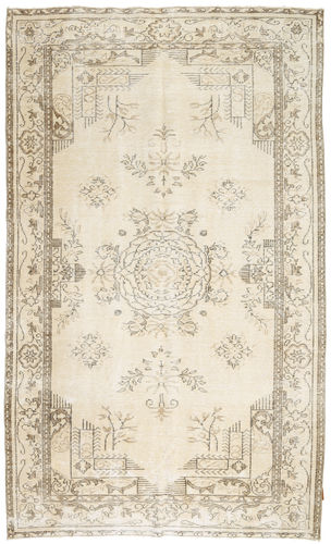 Colored Vintage rug XCGZD1603