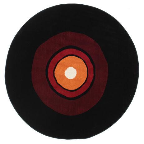 Schallplatte Flatweave - Rot / Orange Teppich CVD12250