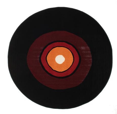 Schallplatte Flatweave - Красный / Оранжевый ковер CVD12251