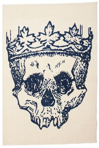 Hamlet Flat Weave - Blå tæppe CVD13195