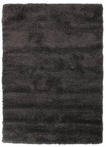 Shaggy Sadeh - Schwarz / grau Teppich CVD13495