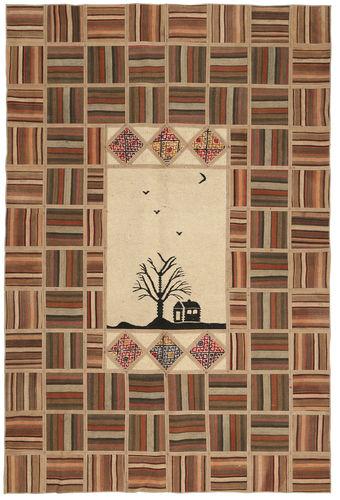 Kilim Patchwork carpet XVZQ8