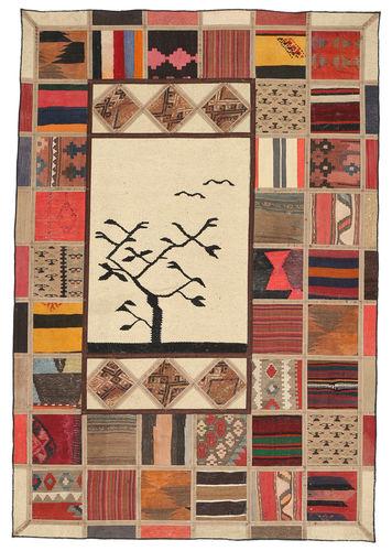 Kelim Patchwork tapijt XVZQ66