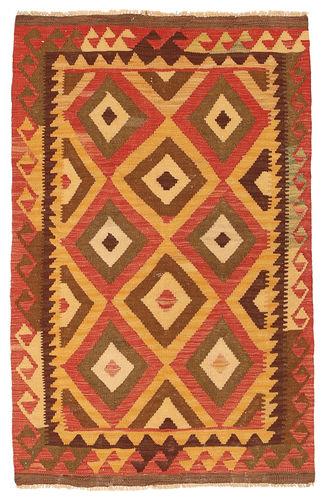 Kilim Afghan Old style carpet NAX799