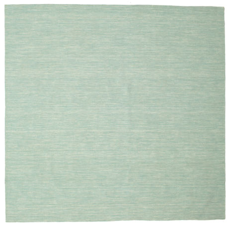 Tapis Kilim loom - Mint Vert CVD8684