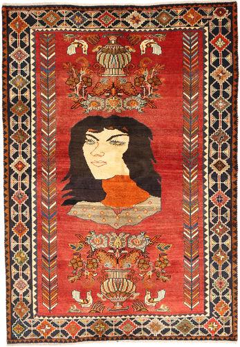 カシュガイ 絨毯 XVZZI426