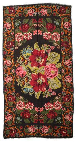 Tappeto Kilim Rose Moldavia XCGZF1091
