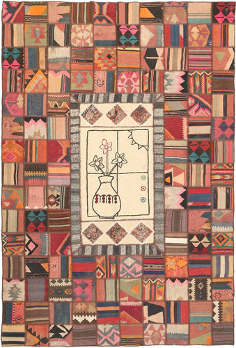Kelim Patchwork tapijt XVZZM131