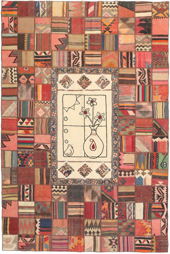 Kilim Patchwork carpet XVZZM140