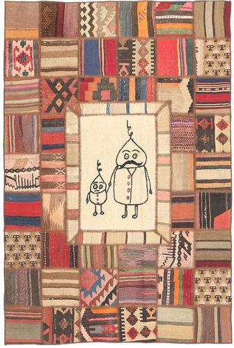 Kilim Patchwork carpet XVZZM27