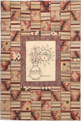 Kilim Patchwork carpet XVZZM97