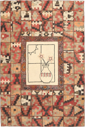 Kilim Patchwork carpet XVZZM104