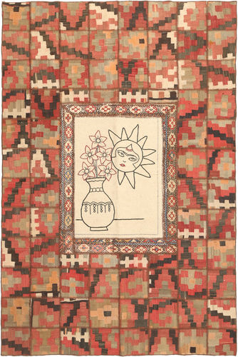 Kilim Patchwork carpet XVZZM122