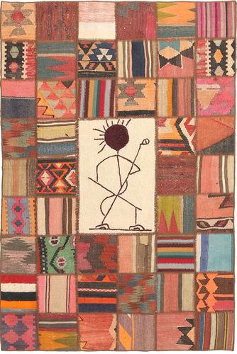 Kilim Patchwork carpet XVZZM50