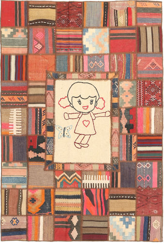 Covor Chilim Patchwork XVZZM52