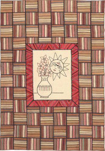Kelim Patchwork tapijt XVZZM154