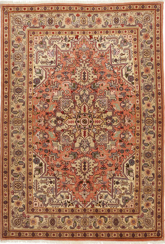 Tabriz 50 Raj with silk carpet TTF82