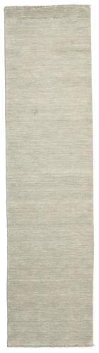 Handloom fringes - Grijs / Licht groen tapijt CVD13996