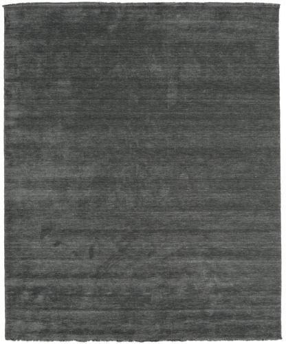 Handloom fringes - Mørk grå teppe CVD14021