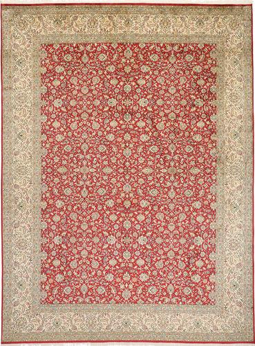 Kashmir pure silk carpet MSA16
