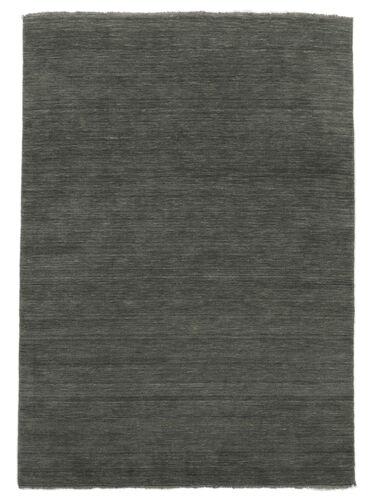 ハンドルーム fringes - 濃いグレー 絨毯 CVD14028