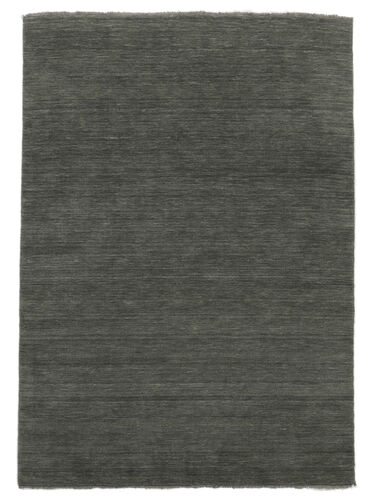 Handloom fringes - Dark Grey rug CVD14022