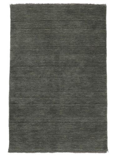 ハンドルーム fringes - 濃いグレー 絨毯 CVD14030