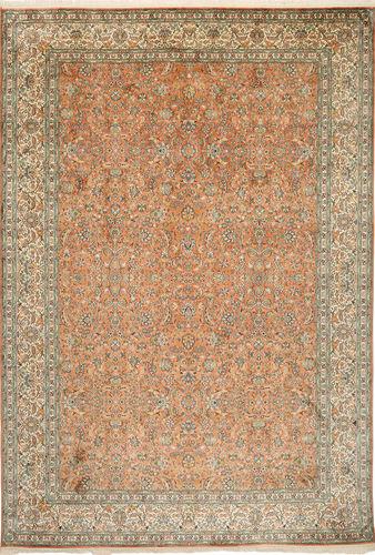 Kashmir pure silk carpet MSA42