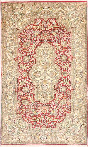 Kashmir pure silk carpet MSA372