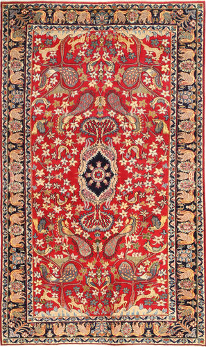 Najafabad Patina pictorial carpet MRA497