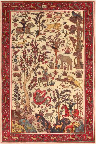 Saveh Patina pictorial carpet MRA642
