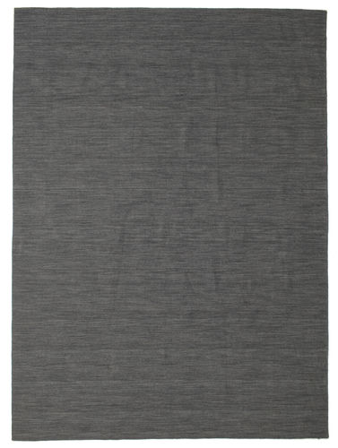 Tappeto Kilim Loom - Nero / Grigio CVD14550