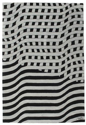 Passages Handtufted - Black / Grey carpet CVD14409