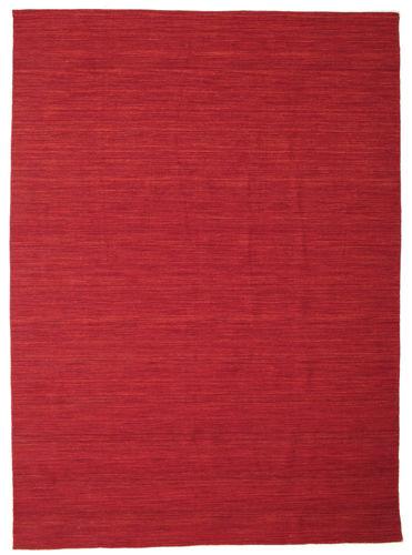 Tapis Kilim Loom - Rouge foncé CVD14637