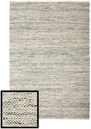 Hugo - 黒 / グレー 絨毯 CVD14454