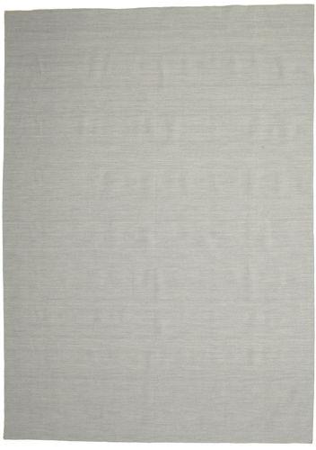 Kilim Loom - Grey rug CVD14579