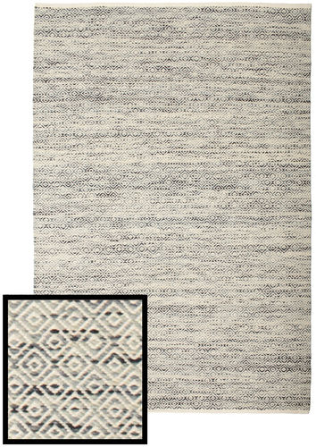 Hugo - Black / Grey rug CVD14455