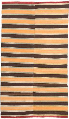Kilim semi antique Turkish carpet NAZA454