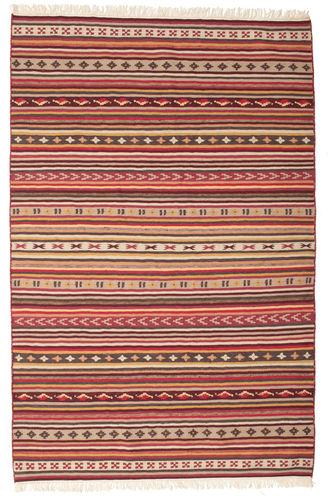 Kelim Dorri Varanasi med fringes teppe CVD15150