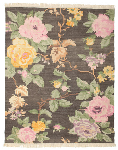 Kelim Karabach Amira - Bruin tapijt CVD14338