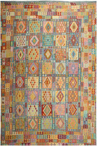キリム アフガン オールド スタイル 絨毯 ABCS1261