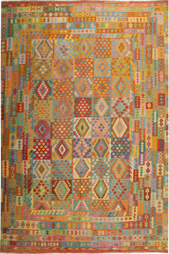 Alfombra Kilim Afghan Old style ABCS1267