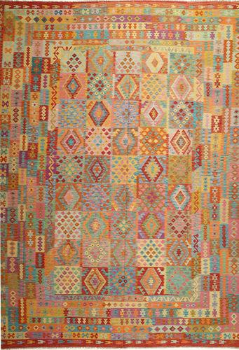 Kilim Afghan Old style carpet ABCS1273