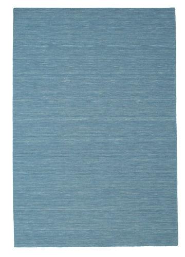 Kilim loom - Blue carpet CVD9055