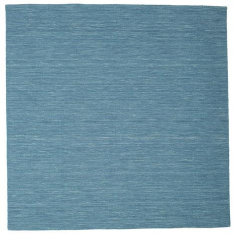 Kelim loom - Blau Teppich CVD9064