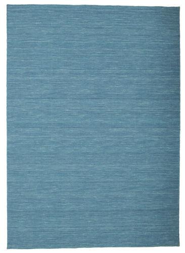 Kilim loom - Blue carpet CVD9062