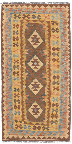 Kelim Afghan Old style  matta 95x199 Orientalisk Matta
