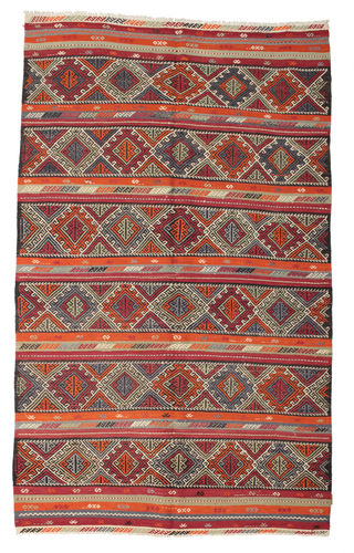 Kilim semi antique Turkish carpet XCGZK22