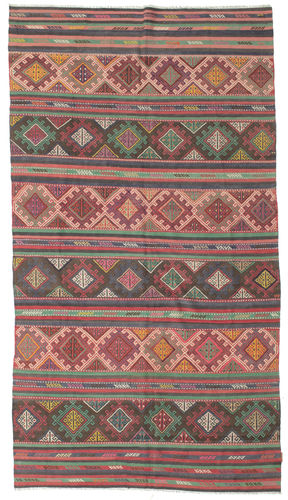Kilim semi antique Turkish carpet XCGZK217